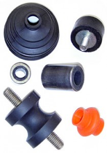 assorted rubber pieces